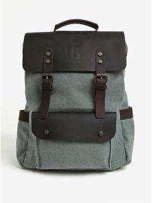 Hnědo-zelený batoh Urban Bag