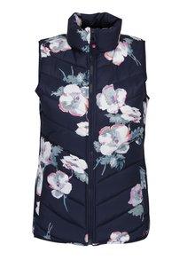Vesta matlasata cu print floral pentru femei Tom Joule Highgrove