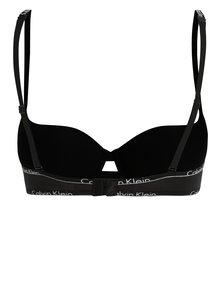 Sutien push-up negru cu bretele cu logo - Calvin Klein