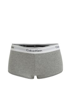 Sivé melírované nohavičky Calvin Klein