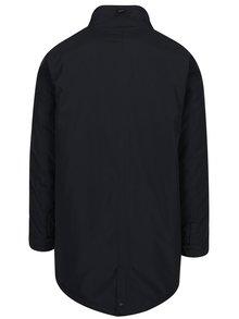 Čierna pánska dlhá bunda Casual Friday by Blend