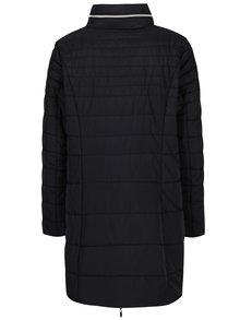 Černý prošívaný kabát Gina Laura