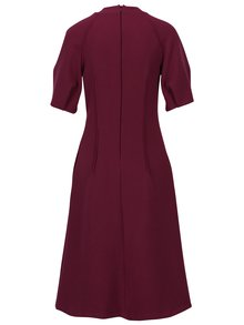 Fialové áčkové šaty s vreckami BLUZAT