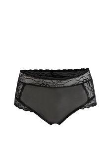 Čierne čipkované nohavičky Y.A.S Esther