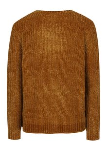 Hnedý sveter Jacqueline de Yong Mine