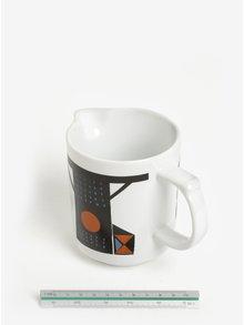 Cana speciala pentru lapte cu print pasari  - Magpie Family of Birds