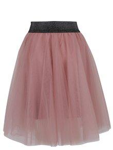Staroružová áčková tylová sukňa TALLY WEiJL