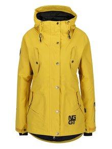 Žlutá dámská nepromokavá zimní bunda NUGGET Anja
