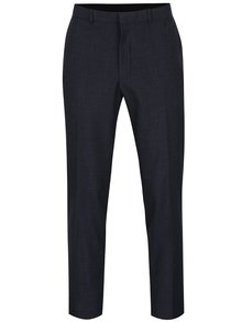 Pantaloni bleumarin slim fit pentru costum Burton Menswear London