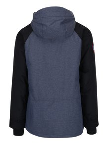 Černo-modrá pánská nepromokavá zimní bunda NUGGET Scaral