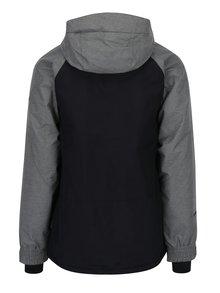 Šedo-černá pánská nepromokavá zimní bunda NUGGET Scaral