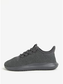 Pantofi sport gri de alergat pentru femei adidas Originals Tubular Shadow