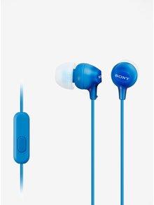 Modré in-ear slúchadlá SONY