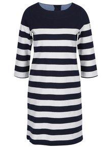 Rochie-pulover bleumarin in dungi cu maneci 3/4 Tom Joule
