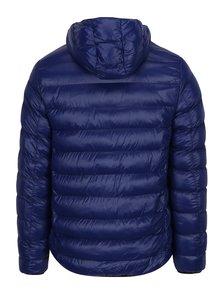 Jacheta matlasata albastra cu gluga Burton Menswear London