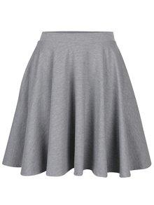 Sivá okrúhla sukňa s vreckami ZOOT