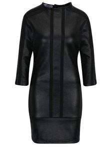 Černé šaty s 3/4 rukávem Alexandra Ghiorghie Rero