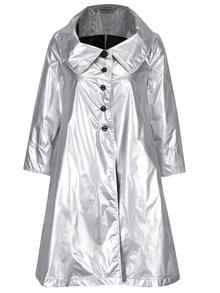 Lehký kabát ve stříbrné barvě Alexandra Ghiorghie Terra