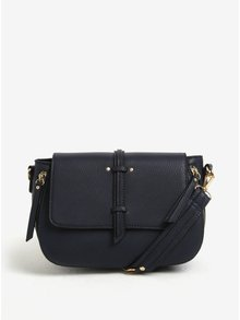 Geanta crossbody bleumarin cu model delicat Bessie London