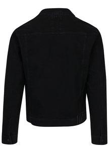 Čierna pánska rifľová bunda Calvin Klein Jeans Classic
