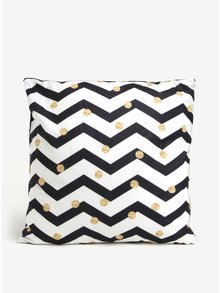 Perna cu print geometric si buline alb & negru - Butter Kings