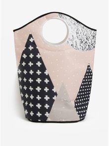 Cos textil pentru rufe cu print abstract -  Butter Kings