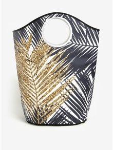 Cos textil pentru rufe cu frunze - Butter Kings