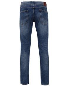 Blugi albastri drepti cu aspect prespalat pentru barbati  Pepe Jeans Cane