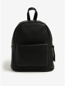 Čierny malý batoh s vreckom Bessie London