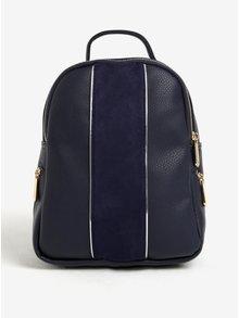 Tmavě modrý malý batoh s detaily ve zlaté barvě Bessie London