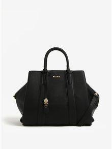 Čierna veľká kabelka s jemným vzorom Bessie London
