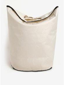 Krémový koš na prádlo s motivem buldoka Butter Kings