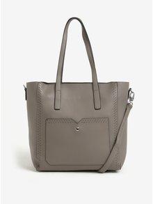 Šedá velká a malá kabelka 2v1 Bessie London