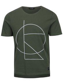Khaki tričko s potiskem ONLY & SONS Morgan