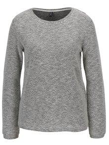 Krémový melírovaný sveter Haily's Colette