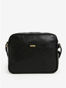 Černá taška přes rameno s detaily ve zlaté barvě Bobby Black