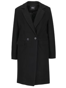 Čierny kabát s podšívkou ZOOT
