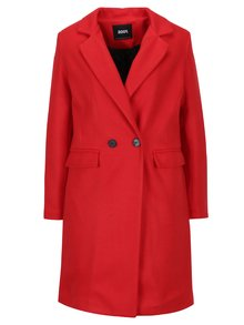 Červený kabát s podšívkou ZOOT