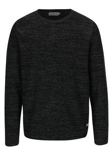 Tmavě šedý žíhaný svetr Jack & Jones Originals Fargo