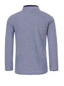 Modré chlapčenské tričko so stojačikom 5.10.15.