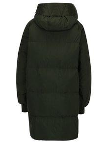 Kaki dámsky zimný páperový kabát adidas Originals