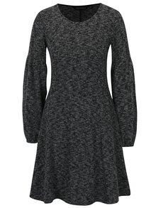 Sivé melírované svetrové šaty Dorothy Perkins