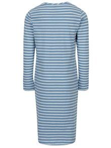 Krémovo–modré pruhované šaty name it Kasja