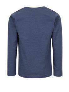 Modré chlapčenské tričko s potlačou name it Victor