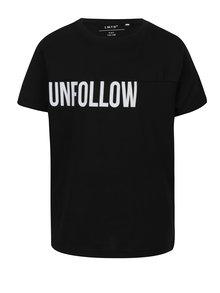 Čierne chlapčenské tričko s krátkym rukávom LIMITED by name it Samson