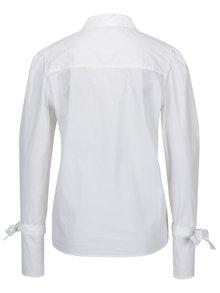 Biela košeľa so zaväzovaním na rukávoch VERO MODA Juljane