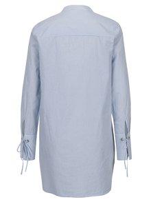 Modro-biela dlhá košeľa VERO MODA Juljane