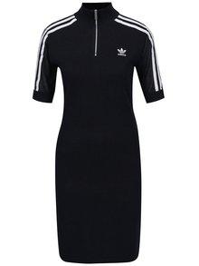 Tmavě modré dámské svetrové šaty adidas Originals