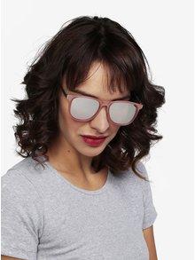 Ochelari de soare cu rama si lentila roz pentru femei - MISSGUIDED