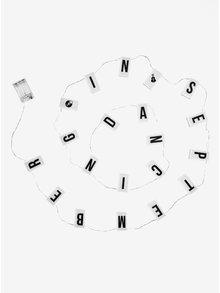 LED světelný řetěz s různými symboly BUTLERS